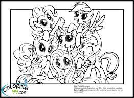 my little pony friendship is magic coloring pages - Google Search