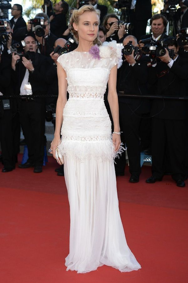 Diane Kruger in custom Nina Ricci