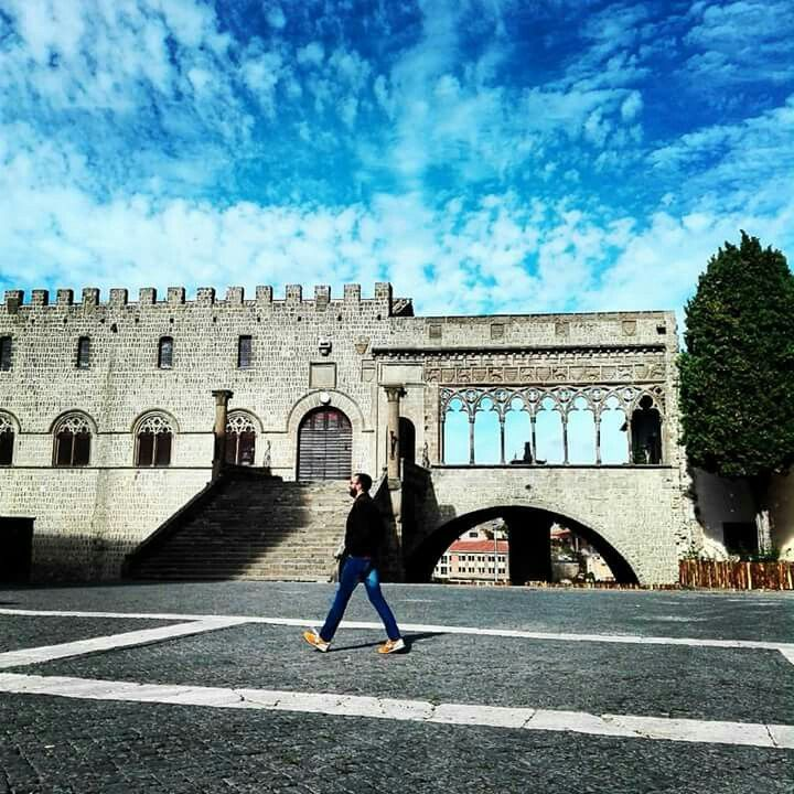 Palazzo Dei Papi in Viterbo, Lazio