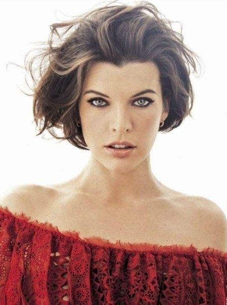 There are more richer versions of Milla Jovovich hairstyles that you would not mind copying at all, all it takes to replicate her look is to look straight