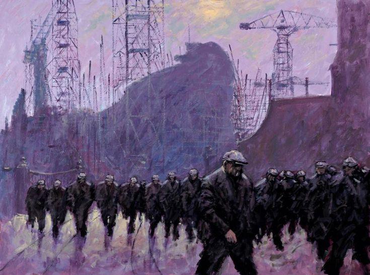 Alexander Millar, The Exodus - Unframed