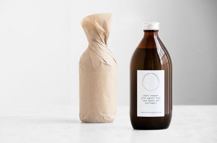 I really like personal and garment care and cleaning products that incorporate essential oils in their formulas. | Tangent Garment Care from Sweden Stain Remover | Remodelista