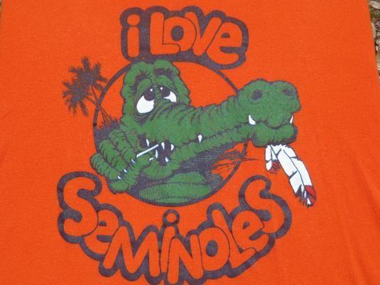 Vintage 1986 Florida Gators VS Seminoles T-Shirt