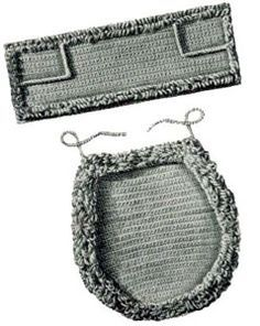 Toilet Seat Cover & Top Tray Set | Free Crochet Patterns
