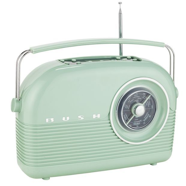 Buy Bush Classic Retro DAB Radio - Sage Green at Argos.co.uk, visit Argos.co.uk to shop online for Radios, Home audio, Technology