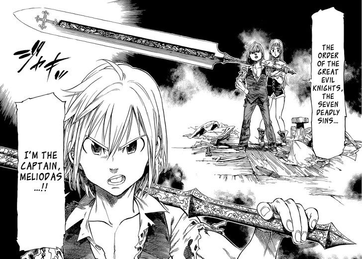 Meliodas & Elizabeth (Oneshot) Seven Deadly Sins Anime
