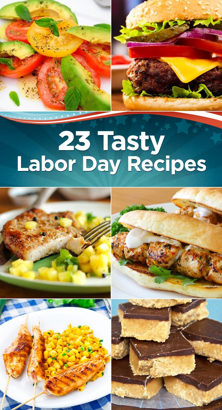 23 tasty labor day recipes | eating is good | pinterest | recipes