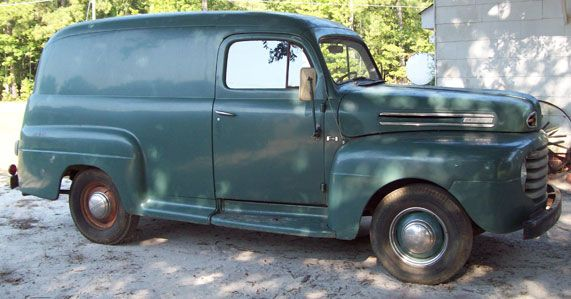 1948 Ford F1 Panel Truck 1948 1956 Ford Pickups Amp Panels