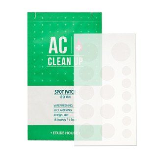 [Etude House] AC Clean Up Spot Patch (16Patches)