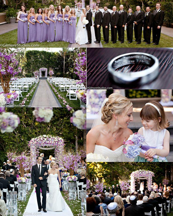 Wedding Cakes Orange County: Long, Lilac Bridesmaid Dresses, Purple, Colors, Wedding