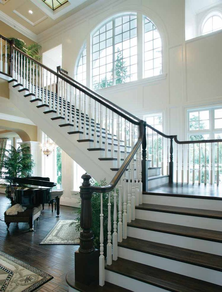 12 best staircase window peculiarities images on pinterest for Grand staircase floor plans