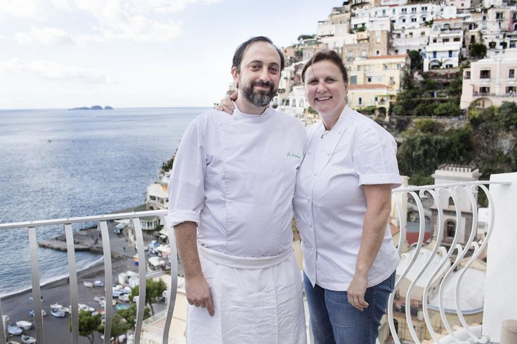 Angela Hartnett & her head chef Luke Holder bring their love of cooking with lemons to Le Sirenuse to cook with Matteo Temperini!