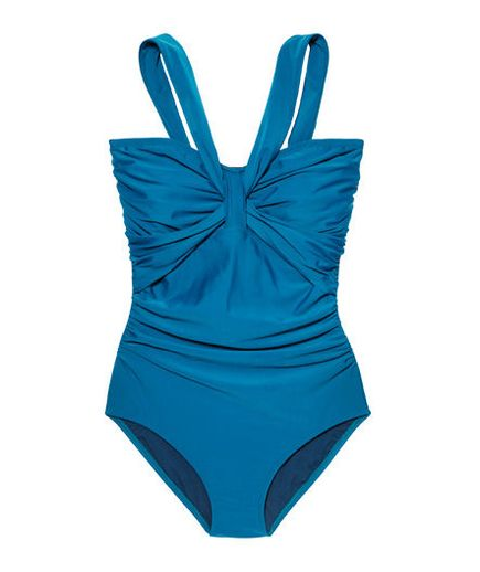 Thanks to stylish cuts and splashy patterns, these plus-size bathing suits flatter all figures.