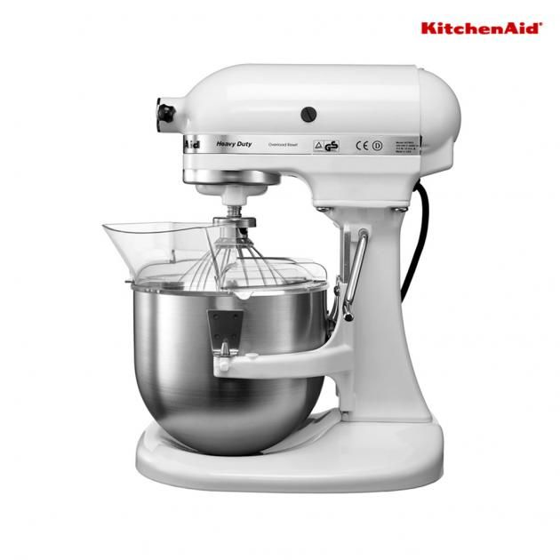 KitchenAid 4.8 L Bowl-Lift Stand Mixer-2 Bowls White 5KPM50BWH