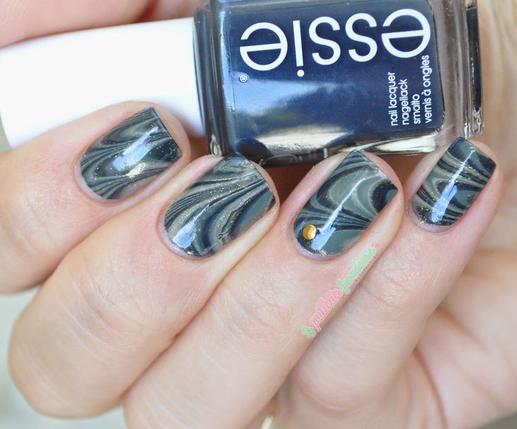 Essie fall 2014 collection - army watermarble