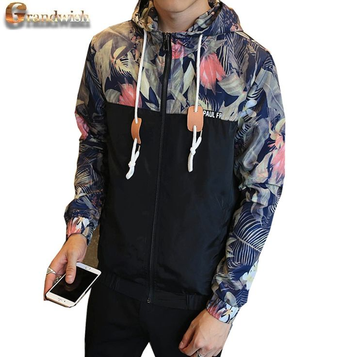 Grandwish 2017 New Mens Hooded Jacket Coat Size 4XL Floral Printed Zip Up Hoodies Jacket Men Slim Fit Mens Jackets Coats , PA571 #electronicsprojects #electronicsdiy #electronicsgadgets #electronicsdisplay #electronicscircuit #electronicsengineering #electronicsdesign #electronicsorganization #electronicsworkbench #electronicsfor men #electronicshacks #electronicaelectronics #electronicsworkshop #appleelectronics #coolelectronics