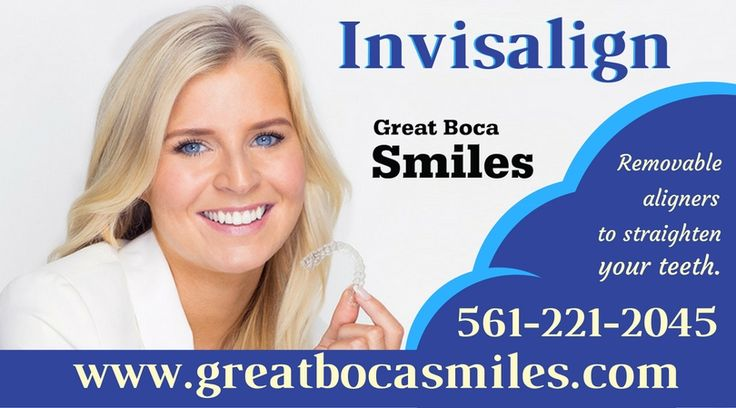 If you want to discreetly correct your crooked teeth? Our leading cosmetic dentists offer a variety of dental services to meet the needs of all ages and dental conditions. Achieve a perfect smile with Invisalign treatment in Boca Raton. To know more, Contact us: 832-928-3645.