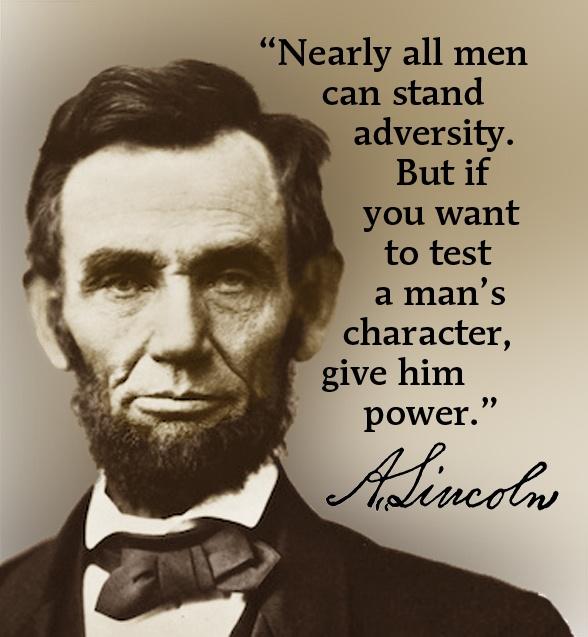 Lincoln's wisdom