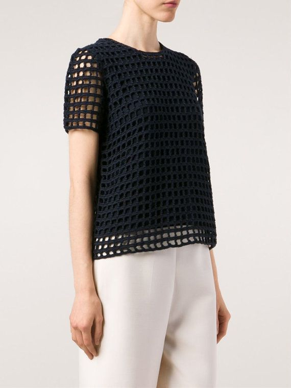 Easy Crochet Top Pattern Beginner Top Pattern Detailed Women Life