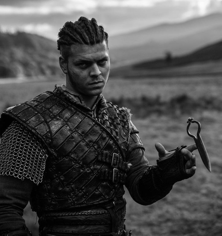Straight outta Kattegat with cornrows. - @marcoilsoe ain't that bad with my camera. Huge #shoutout to costume department   Ivar - Vikings