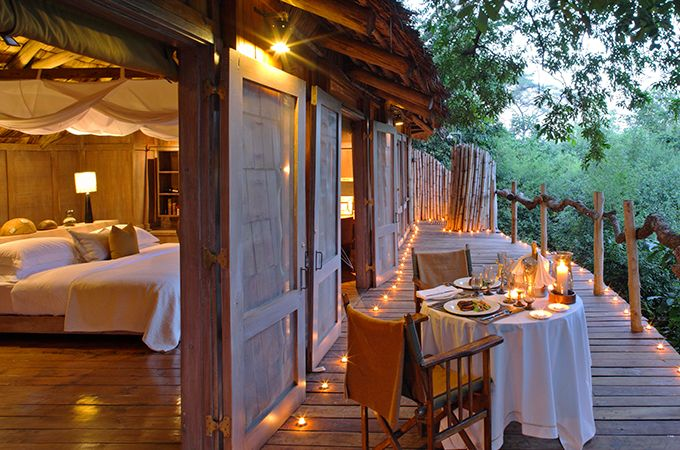 The secluded, luxurious Lake Manyara Tree Lodge [image: And Beyond South Africa Travel]