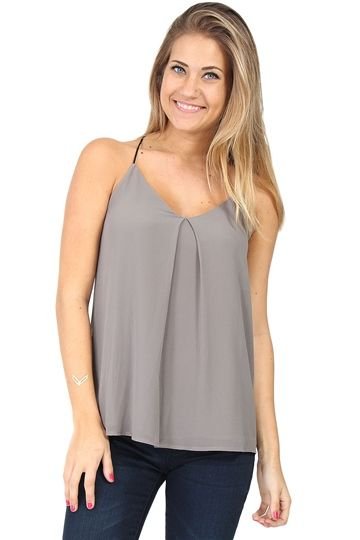 Grey Elephant Graphic Muscle Tee at Blush Boutique Miami