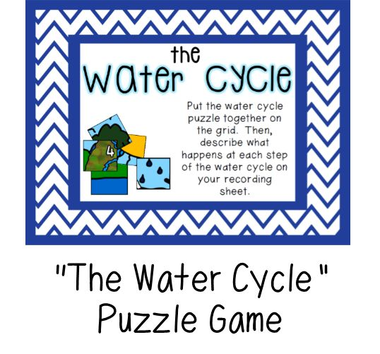 Great For Review The Water Cycle BE SURE TO FIND THIS