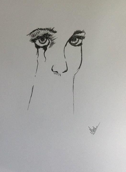 Sharpie drawing