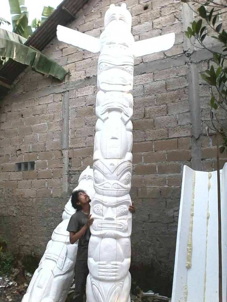 Carving,styrofoam art decoration