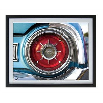 Framed Art Car 40.6 x 50.8cm