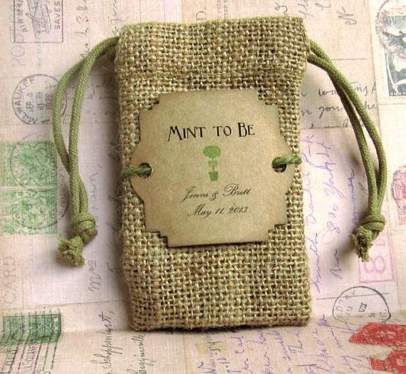 Hey, I found this really awesome Etsy listing at https://www.etsy.com/listing/151727582/burlap-wedding-favor-bags-personalized