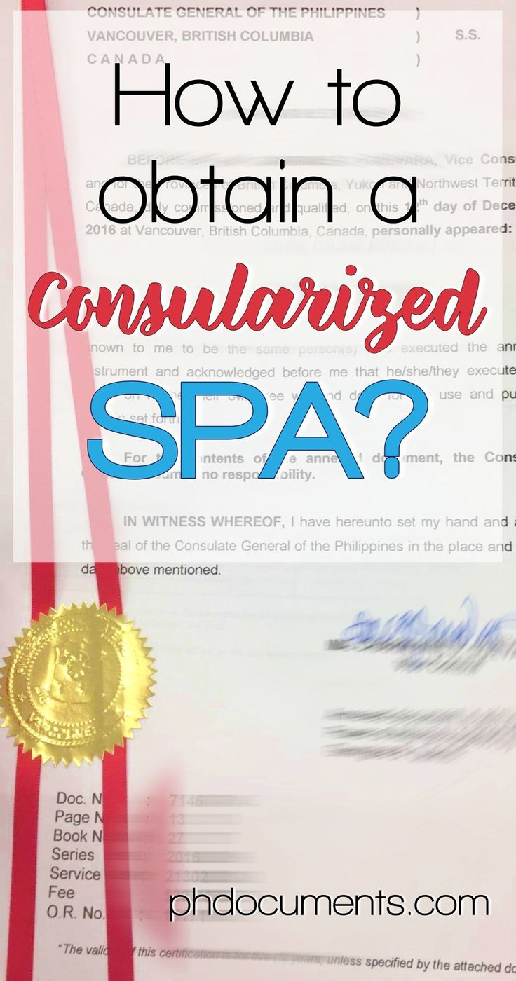 What is a Consularized Special Power of Attorney Online