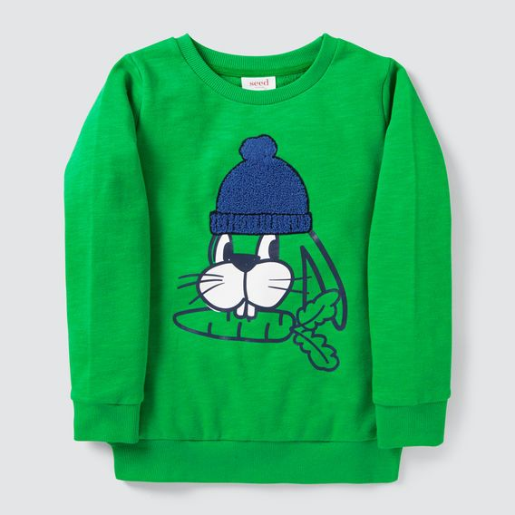dc747795bb Bunny Chenille Sweater RETRO GREEN | APPAREL-BOY | Sweaters, Long ...