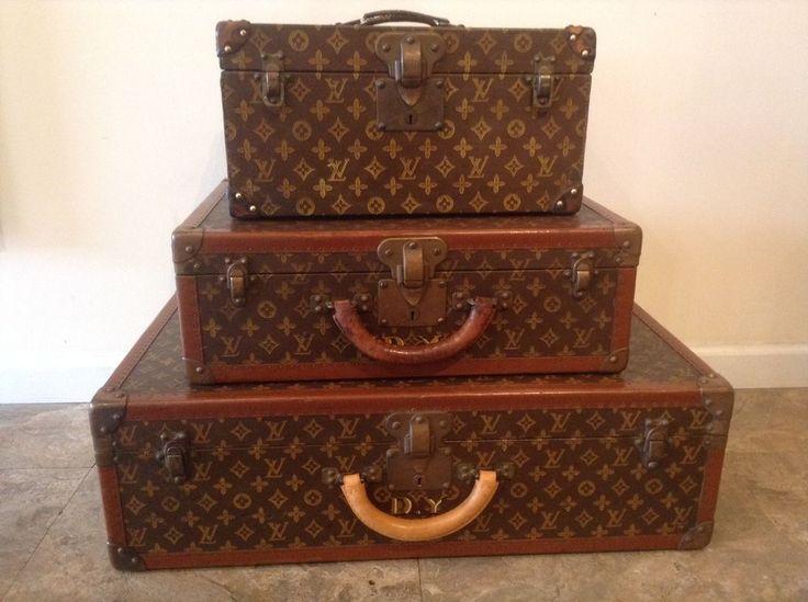 louis vuitton luggage set images. Black Bedroom Furniture Sets. Home Design Ideas