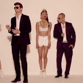 Blurred Lines :: Robin Thicke, Pharrell Williams & T.I.