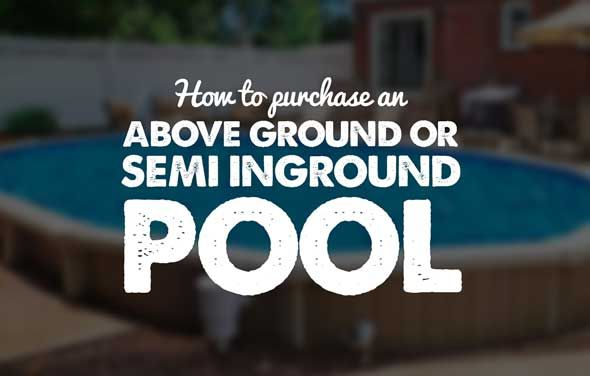 Learn what to look for when making an above ground pool purchase. This tutorial will educate you on swimming pool basics.