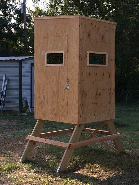 new wood deer blinds stands 1 man 2 man hunting
