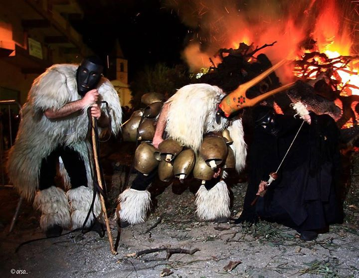 Carnival in Sardinia is different than in all other parts in the world. Our carnival celebrations find their real origin in the ancient past, thousands years ago, and they still mantain the original caracteristics and traditions. Here in the photo, only a small example of some typical Sardinian Carnival masks and costumes, as Mamuthones, Boes, Merdules, Filonzana and more and more... www.visitsardinia.ru