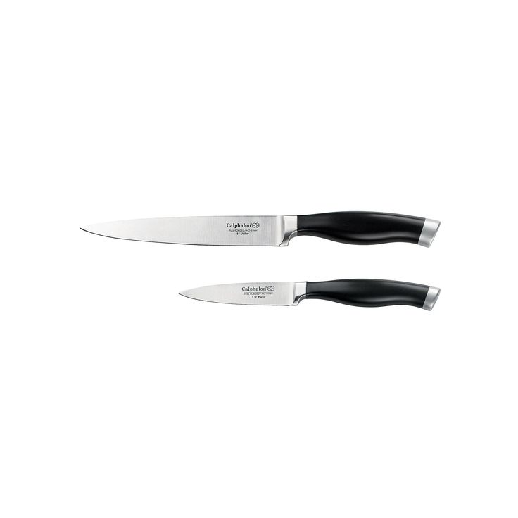 Calphalon Contemporary Cutlery 2-pc. Fruit and Vegetable Knife Set, Multicolor