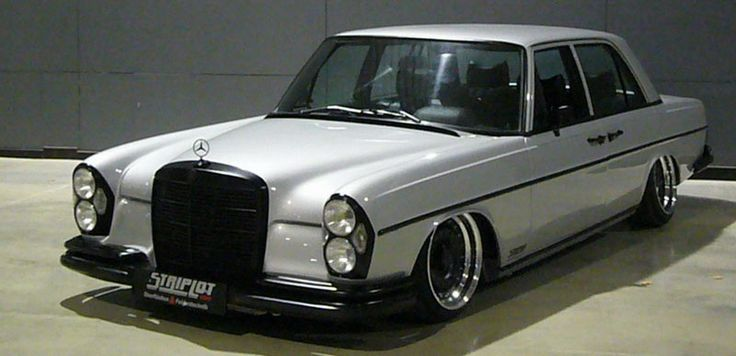 Mercedes-Benz W108 Bagged on Custom 3 Piece ATS Barock 01