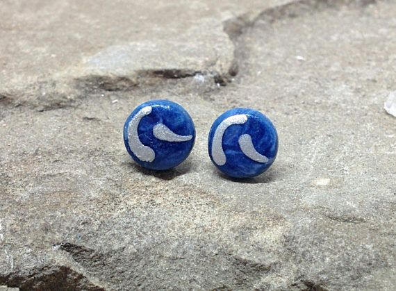 Silver Blue Earrings Blue Round Studs 8mm Studs Ceramic  #earstuds #earring #earrings #studearrings #studearring #handmadejewellery #handmadejewelry #handmade #ceramicjewelry #ceramic #ceramics #giftideas #gifts #giftsforanyoccasion #giftsforher #giftsforwomen #womenfashion #fashionaccessories #bliss #fashionideas #fashion #artisanjewelry #artistsoninstagram #jewelrygram #jewelrydesign #jewelry #jewelrydesigner #handmadeearrings #studs #cutegifts