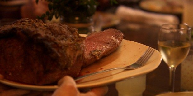 Wagyu Beef with a Mustard and Parsley Crust