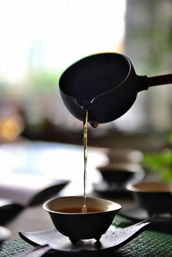 Cerimonia del tè.