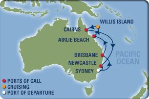 how to fly to airlie beach from sydney