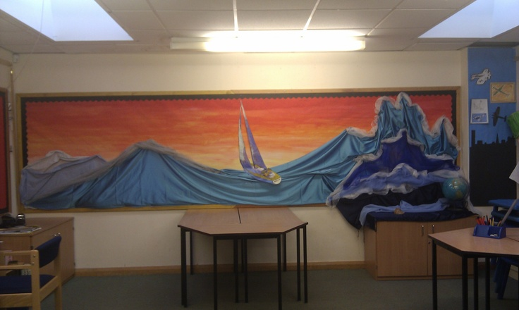 Michael Morpurgo - Kensuke's Kingdom school display created by me :-)