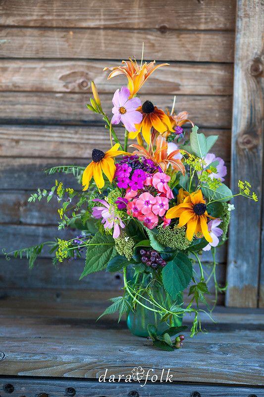 Летний букет цветов.