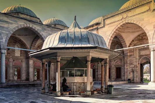 Şadırvan.... Süleymaniye, Istanbul