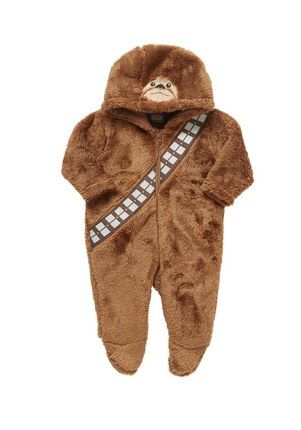 Star Wars Chewbacca Onesie. This is adorable!