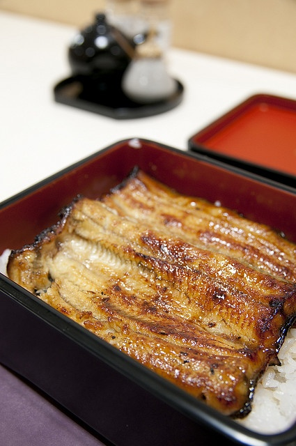 Japanese Unaju, Grilled Eel on Rice うな重