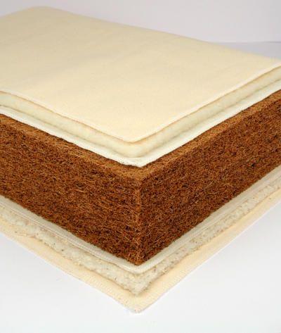 Gyógymatrac és ortopéd matrac (10 cm vastag kókusz) – hátfájás ellen ajánlott